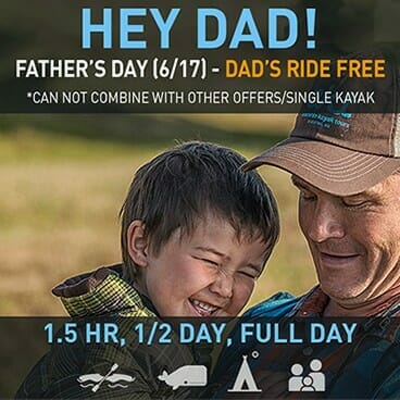 Fathers Day Special - Dad's Ride Free