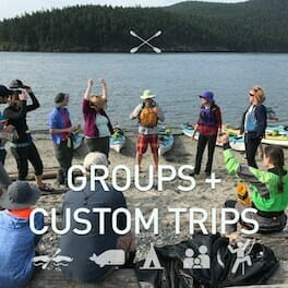 San Juan Islands Kayak Tour for Groups