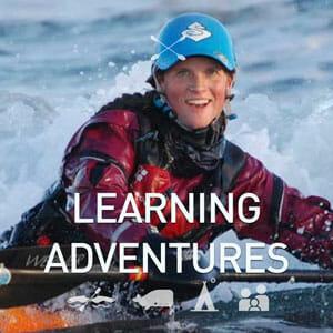 Kayak Learning Adventure Trips