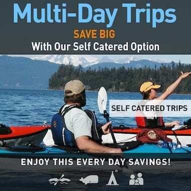 Self Catered Multi-Day Trip Savings