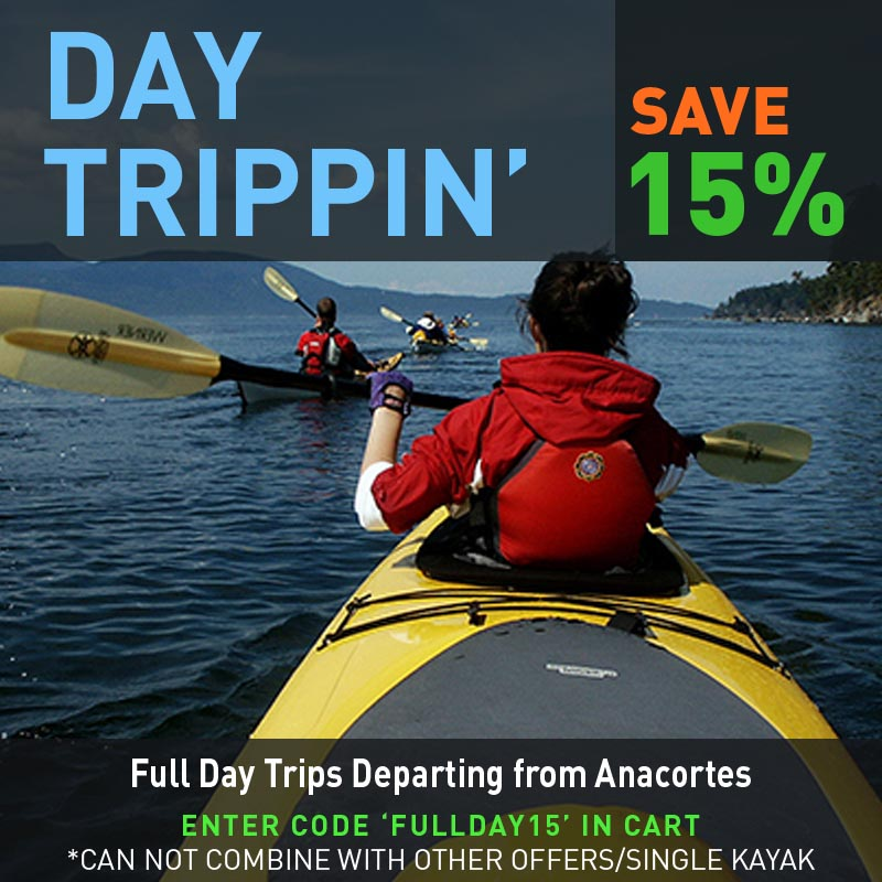 Save 15% on Day Trips from Anacortes