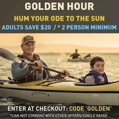 Golden Hour Special Save $20 each