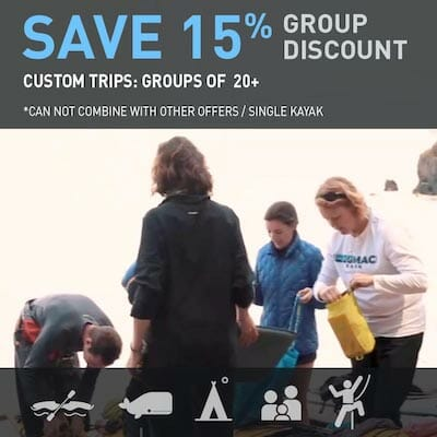 Special Price: 15% off for groups of 20 or more