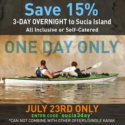 Sucia Island 1-day Special
